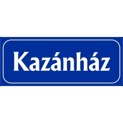 Kazánház 25x10 cm