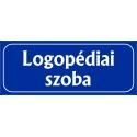 Logopédia szoba 25x10 cm