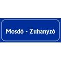 Mosdó - Zuhanyzó 25x10 cm