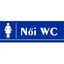Női WC 30x10 cm