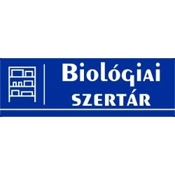Biológia szertár 30x10 cm