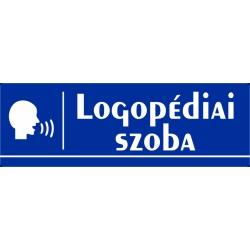 Logopédia szoba 30x10 cm