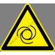 Autómatikusan működő berendezés figyelmeztető piktogram matrica
