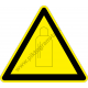 Gázpalack figyelmeztető piktogram matrica