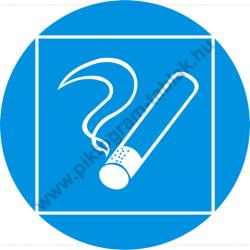 Dohányzásra kijelölt hely rendelkező piktogram matrica