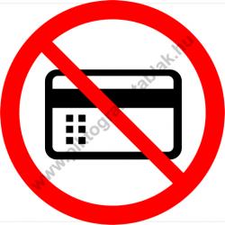 Mágneses vagy elektromos adathordozóval belépni tilos tiltó munkavédelmi piktogram matrica