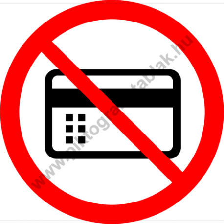 Mágneses vagy elektromos adathordozóval belépni tilos tiltó piktogram matrica