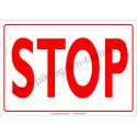 Stop villamossági piktogram tábla