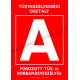 A tűzveszélyességi osztály tűzvédelmi piktogram tábla