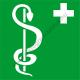 Utánvilágító orvos piktogram tábla