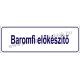 Baromfi előkészítő HACCP tábla