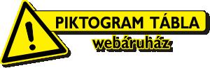 Piktogram táblák webáruház